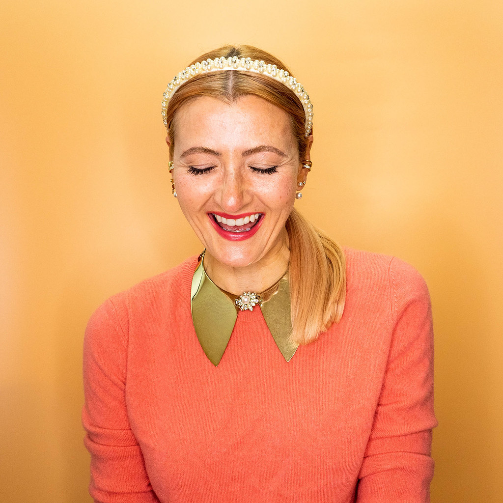 Using Accessories to Breathe Life into Old Clothes: 9 Different Coloured Sweaters Accessorised in Different Ways | Not Dressed As Lamb, Style Over 40