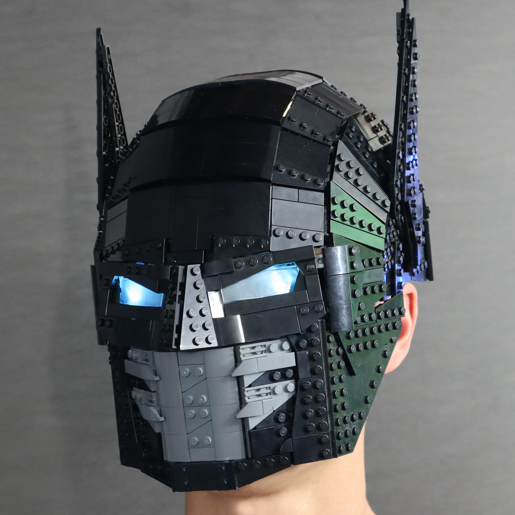 Wearable LEGO Batman Helmet