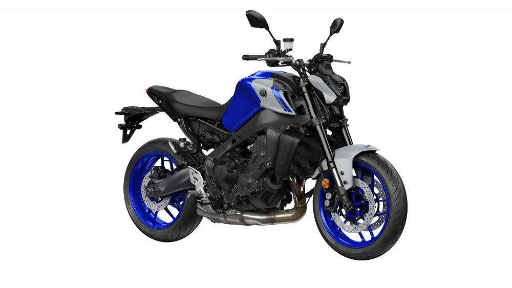 New Yamaha MT-09 2021 Icon Blue