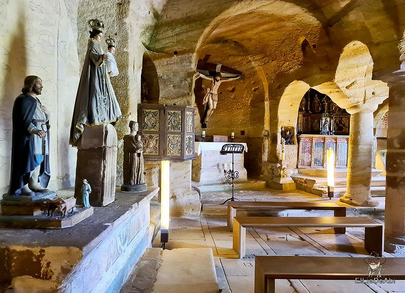 Iglesia rupestre dedicada a los Santos Justo y Pastor en Olleros de Pisuerga 12