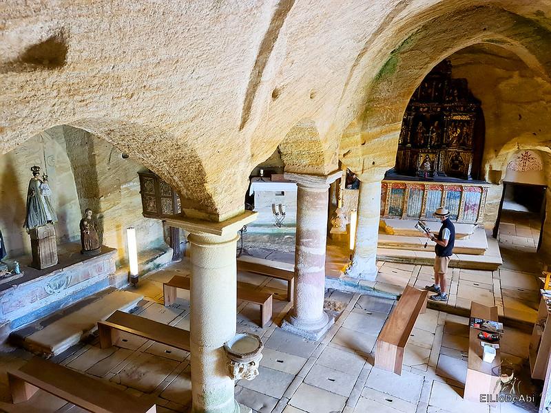 Iglesia rupestre dedicada a los Santos Justo y Pastor en Olleros de Pisuerga 9