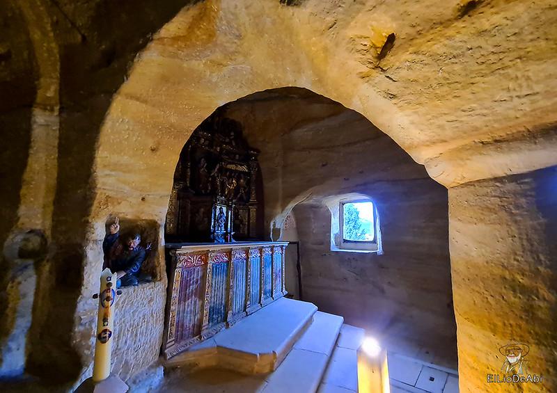 Iglesia rupestre dedicada a los Santos Justo y Pastor en Olleros de Pisuerga 7