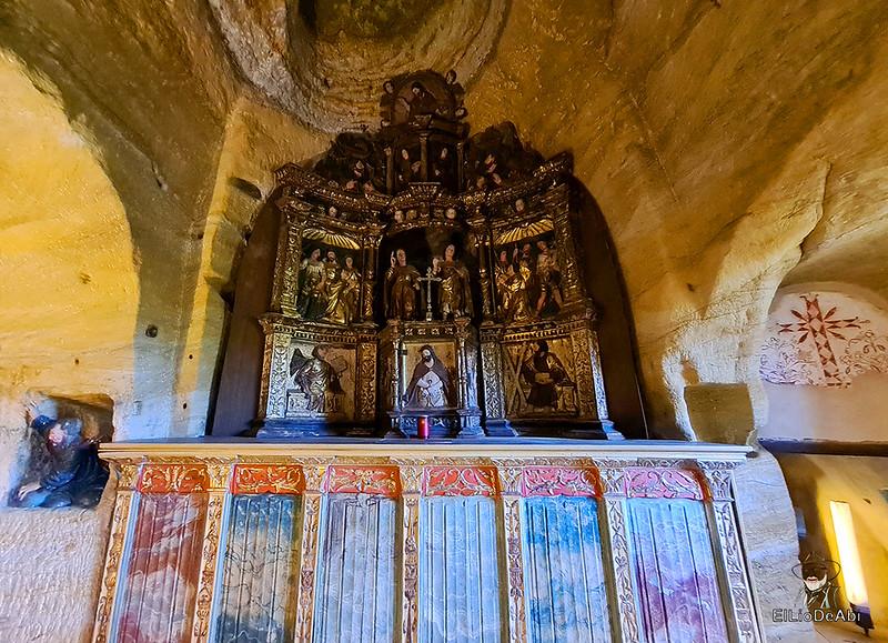 Iglesia rupestre dedicada a los Santos Justo y Pastor en Olleros de Pisuerga 6