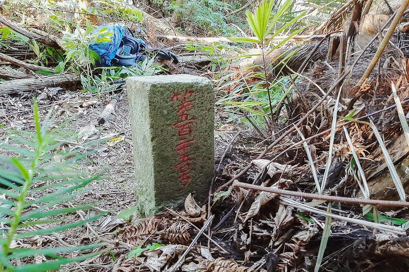 蕃婆石鑛務課基石(# 鑛525 Elev. 293 m) (2)