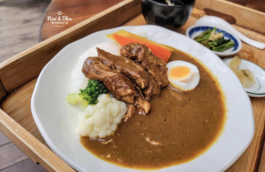 宜蘭咖啡 里海 咖哩鮮魚定食菜單07