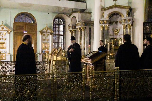 Божественная литургия в день памяти сщмч. Дамиана (Воскресенского)03.11.2020