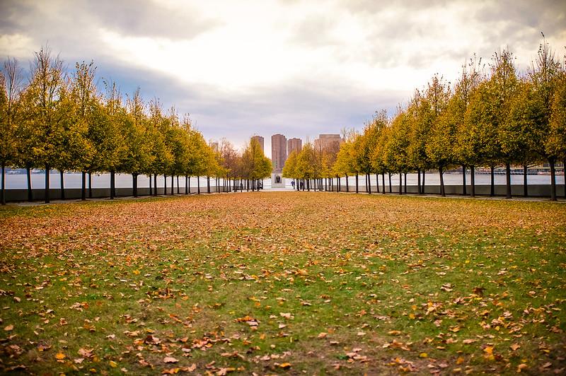 Walk In New York - 2019 - Roosevelt Island -Buste de Franklin Delano Roosevelt