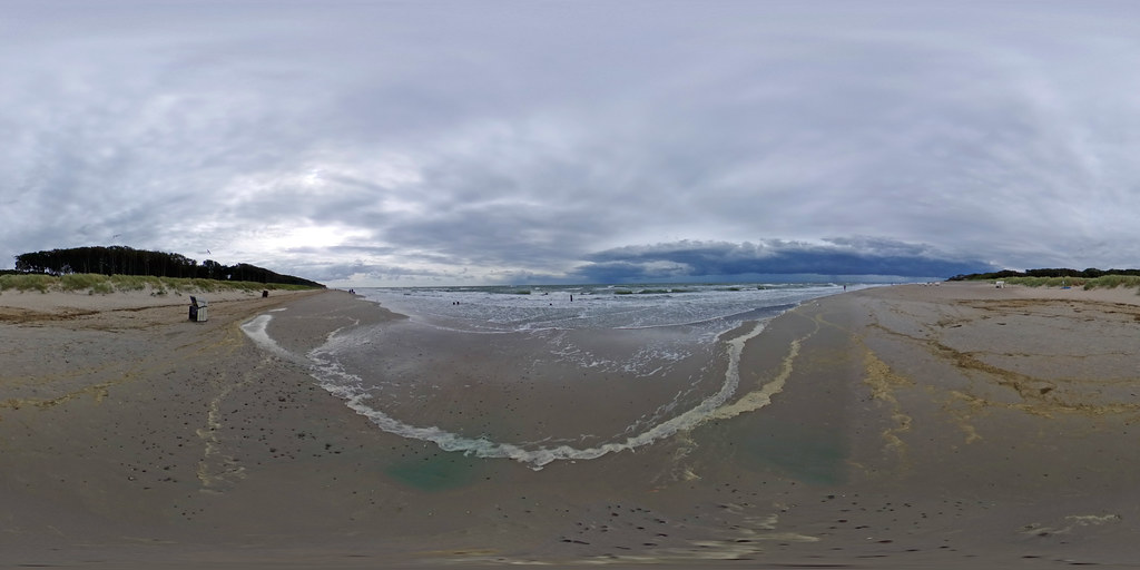 Graal-Müritz - Ostsee und Strand 360 Grad