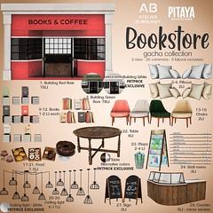 Atelier Burgundy + Pitaya . Bookstore - Gacha Key