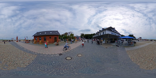 Graal-Müritz - Platz vor der Seebrücke 360 Grad