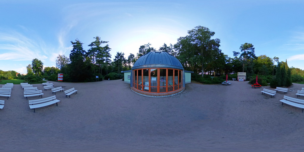 Graal-Müritz - Rhododendronpark, Konzertmuschel 360 Grad