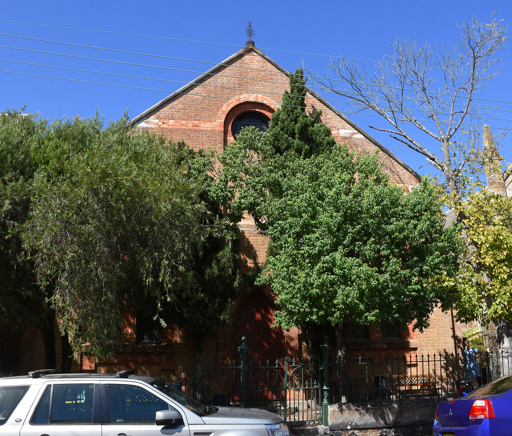 Presbyterian Church, Balmain, Sydney, NSW.