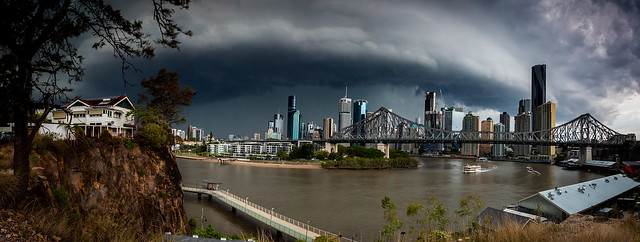 City Storm Approaching