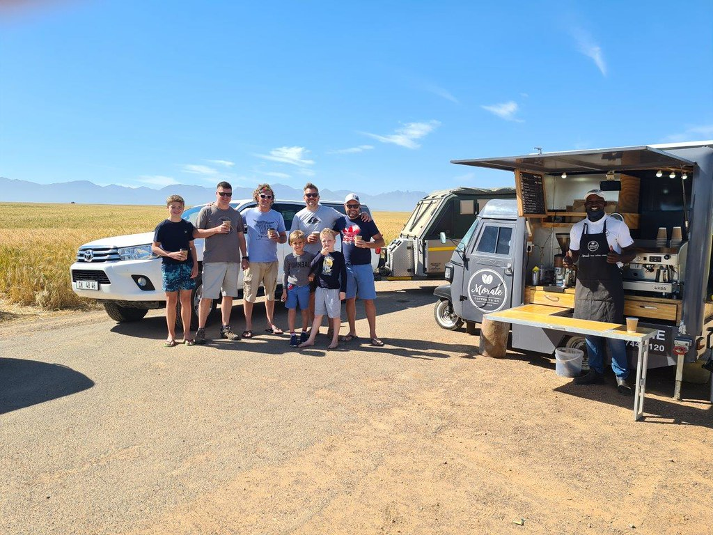 Weekend in the Tankwa Karoo with friends