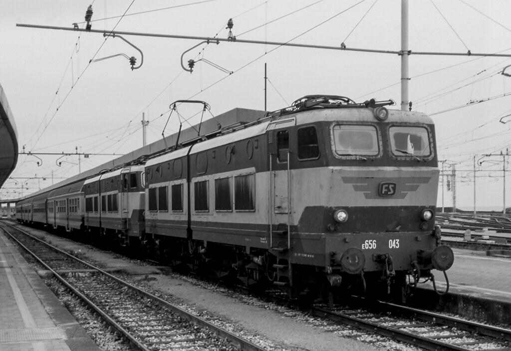 FS E 656.043 + 656 Catania 05/04/1997