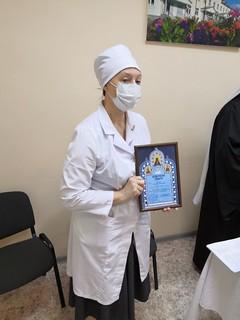 03.11.2020 | Вручение архиерейских грамот врачам