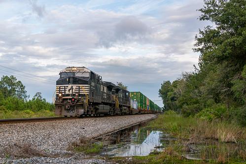 ge ac44c6m ns norfolk southern railway railroad gsf kent florida
