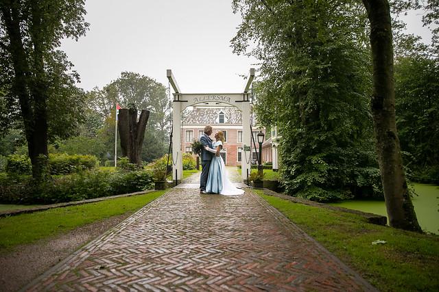 Bruiloft op de Allersmaborg - Deel II - Tilly Fotografeert