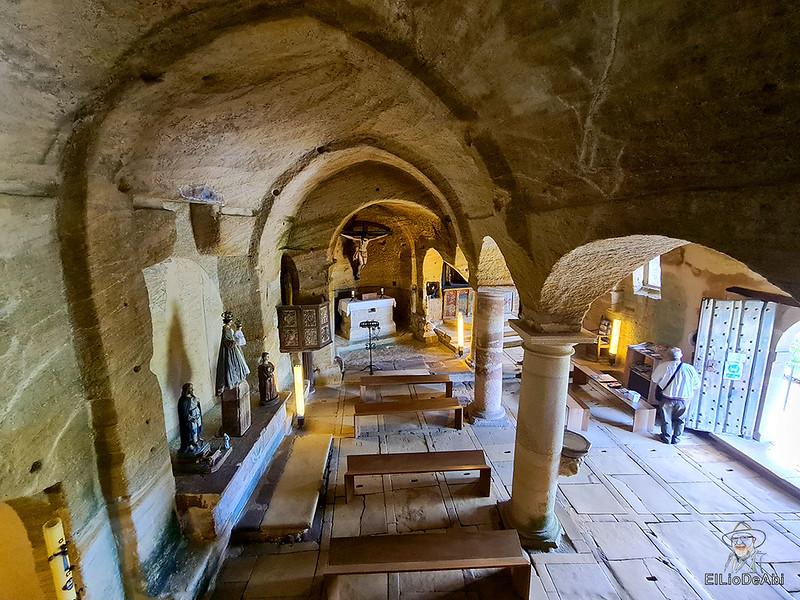 Iglesia rupestre dedicada a los Santos Justo y Pastor en Olleros de Pisuerga 10