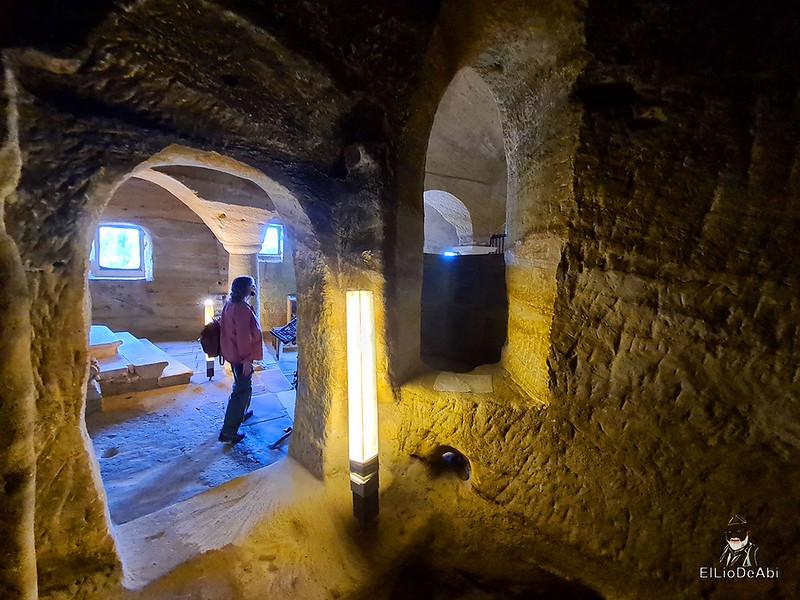Iglesia rupestre dedicada a los Santos Justo y Pastor en Olleros de Pisuerga 8