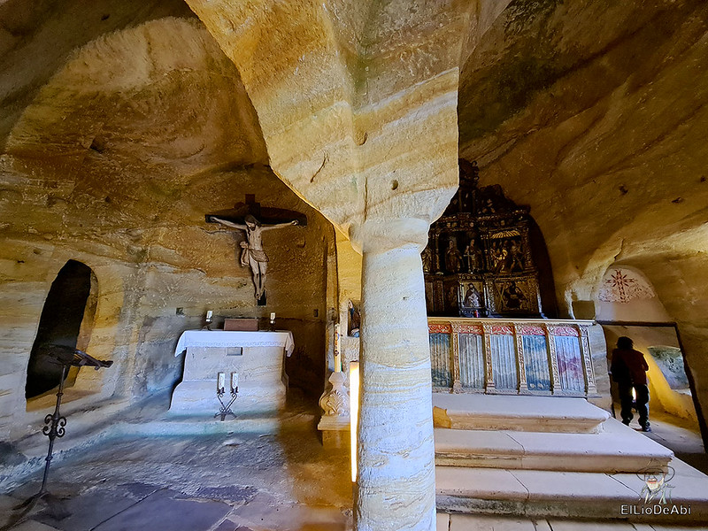 Iglesia rupestre dedicada a los Santos Justo y Pastor en Olleros de Pisuerga 5