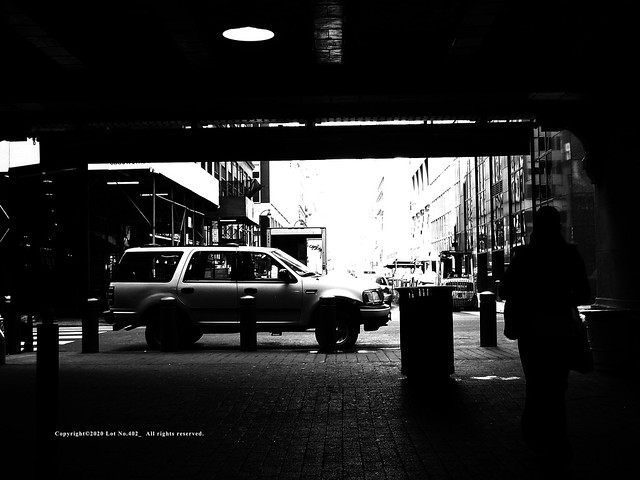 A side road of Grand Central Terminal.