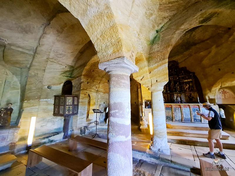 Iglesia rupestre dedicada a los Santos Justo y Pastor en Olleros de Pisuerga 14