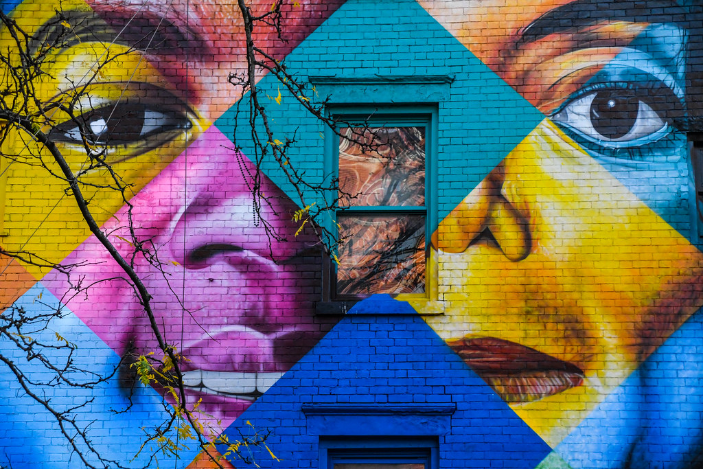 Walk In New York - 2019 - Fresque Eduardo Kobra - Michael Jackson