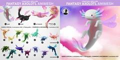 SEmotion Libellune Fantasy Axolotl Animesh