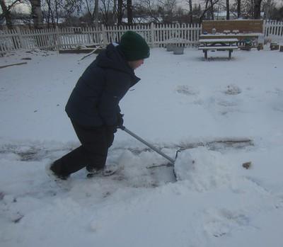shoveling pathways