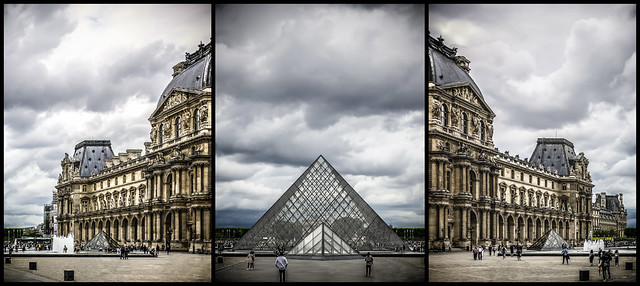 Triptyque Louvre