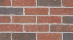 Arlington Blend Tumbled Tumbled Texture red Brick