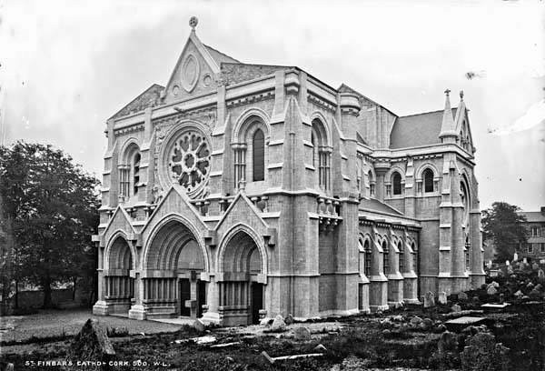 St Fin Barre's Cathedral, Cork, at the time of the Consecration on 30th November 1870.