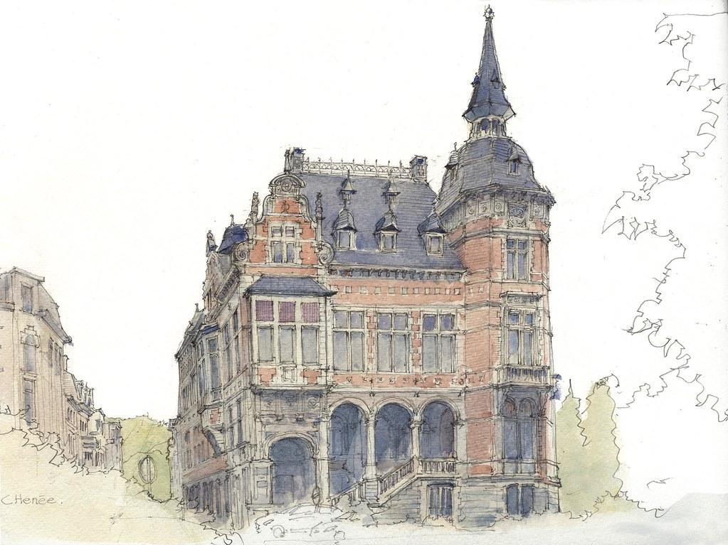 Chênée-Hotel de ville