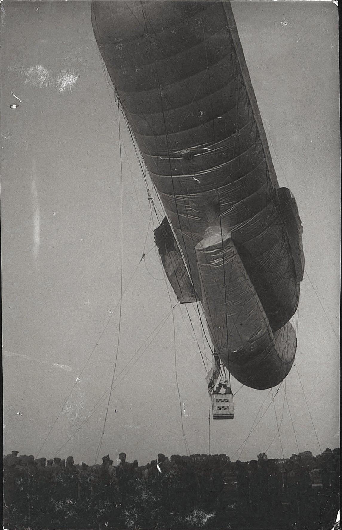 1916. Подъём аэростата (6)