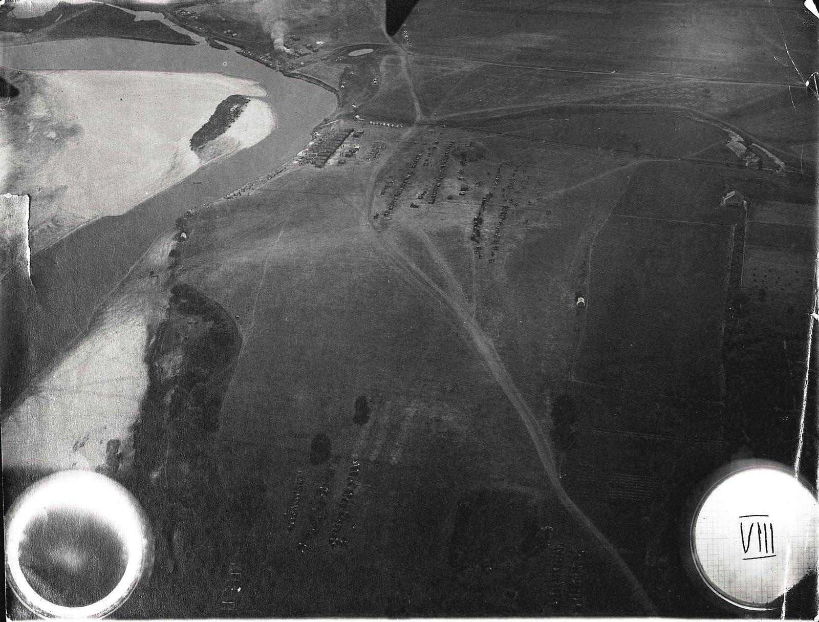 1915. Линия Влодавских укреплений у реки Буг. Окрестности д. Сабибора.