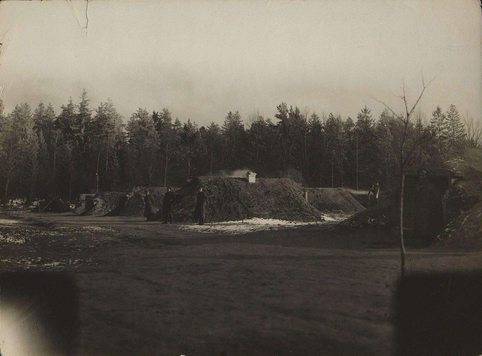 1915. Бивак Владивостокской крепостной воздухроты
