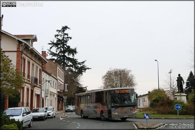Mercedes-Benz Intouro – SPL D'un Point À l'Autre / liO (Lignes Intermodales d'Occitanie) n°127