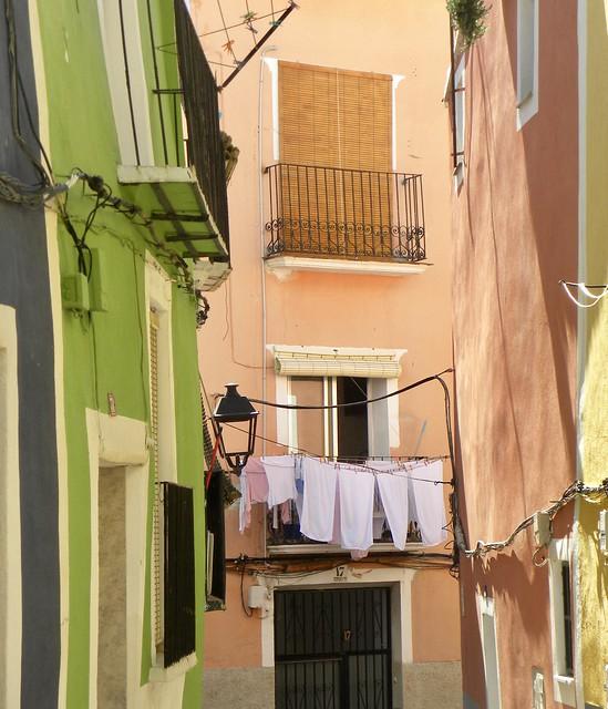 Le plein de couleurs, Vila Joiosa, Espagne.