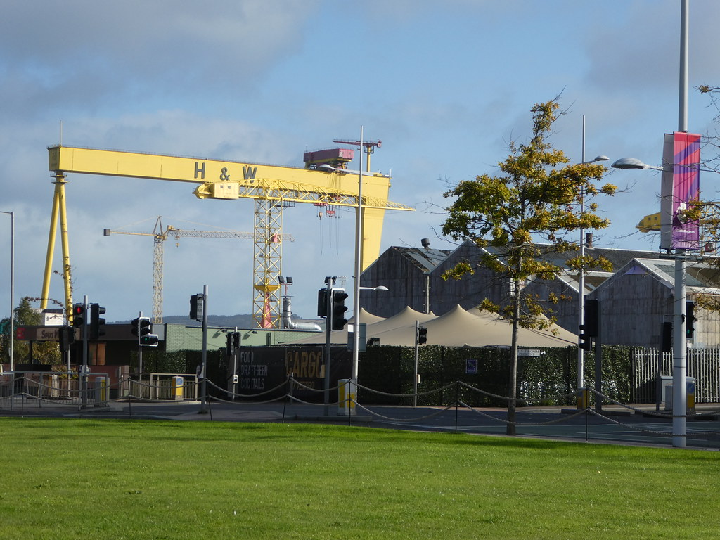 Harland & Wolff Cranes, Titanic Quarter, Belfast