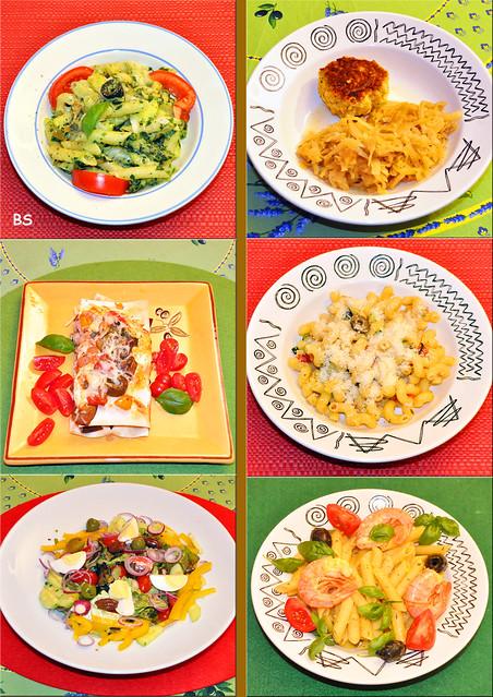 Herbst 2020 ... Sechs vegetarische Abendessen ... Brigitte Stolle