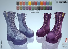 :: SA :: Abby - Ladies Boots with HUD