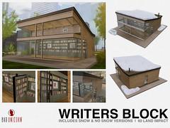 NEW! Writers Block @ Anthem