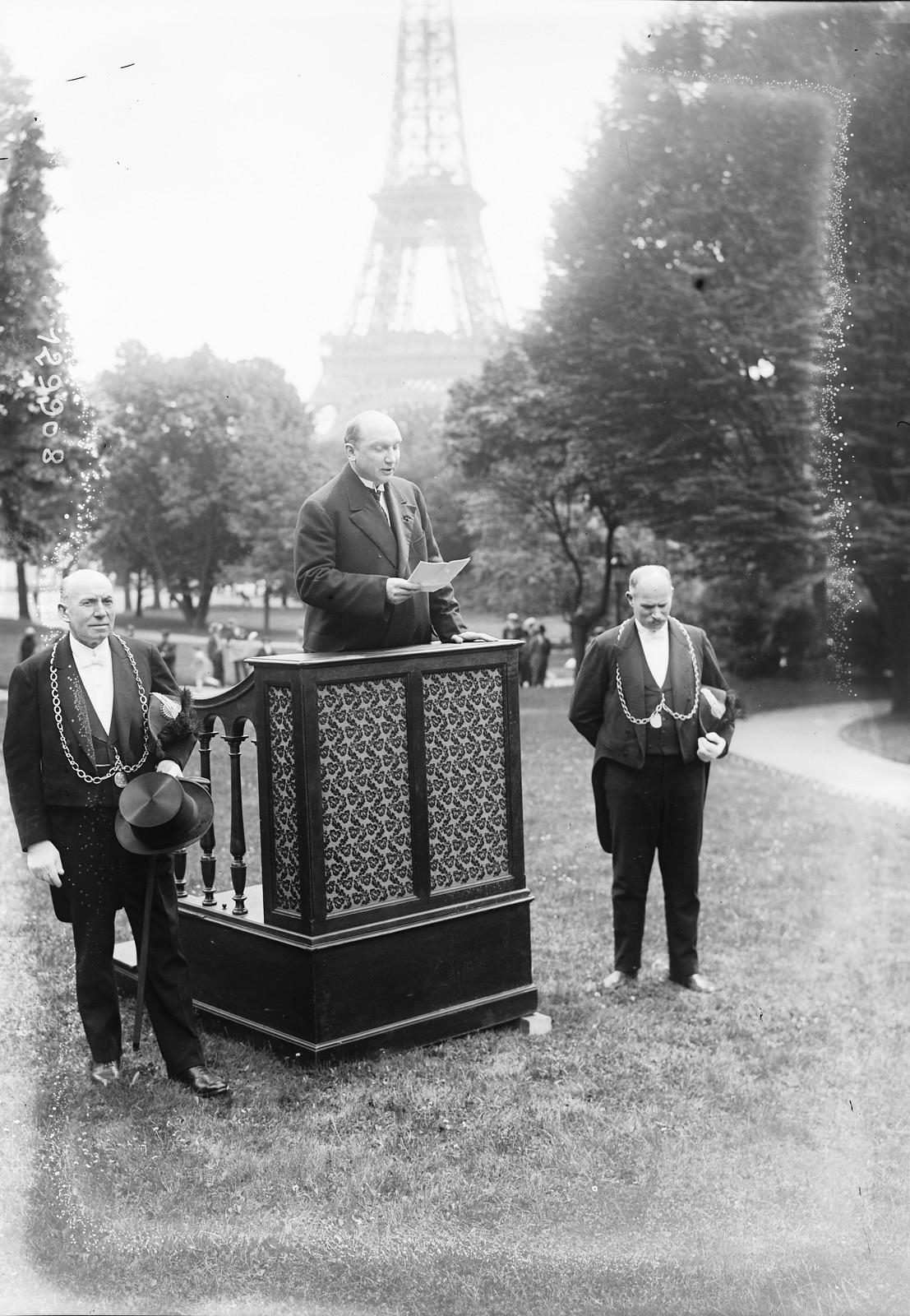1928. Выступление министра иностранных дел Польши Аугуста Залеского 06.11.