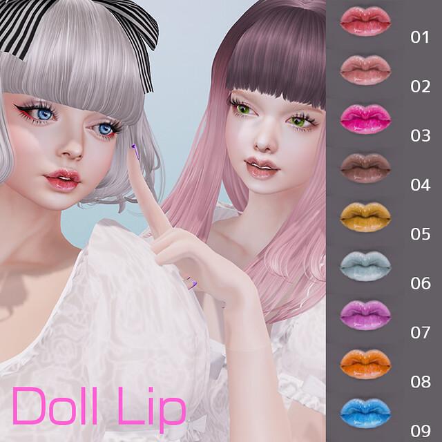 Doll lip