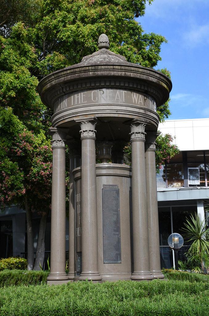 War Memorial, Drummoyne, Sydney, NSW.