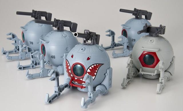 人氣鯊魚造型登場『機動戰士鋼彈 CAPCHARA 鋼球』第 2 彈 11 月發售!
