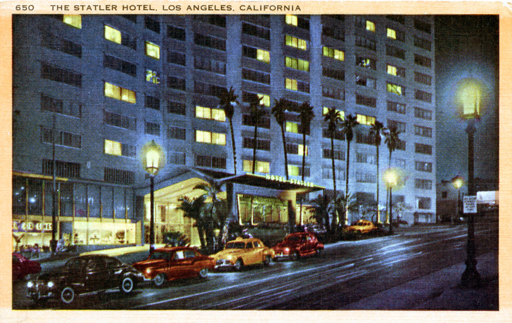 The Statler Hotel Los Angeles CA