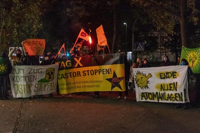 Anti Castor Protest Oldenburg