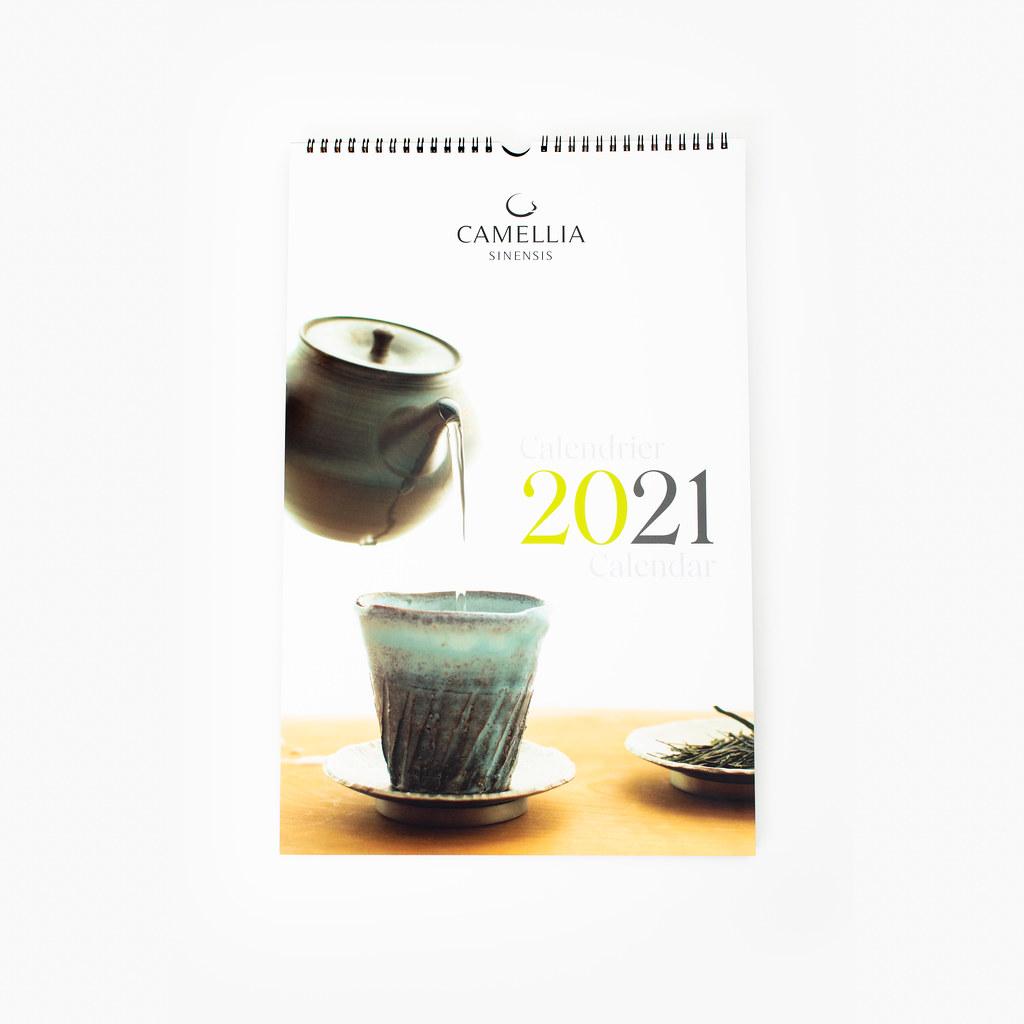 Calendrier Camellia Sinensis 2021 | Camellia Sinensis